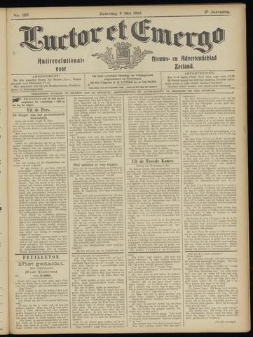 Luctor et Emergo. Antirevolutionair nieuws- en advertentieblad voor Zeeland / Zeeuwsch-Vlaanderen. Orgaan ter verspreiding van de christelijke beginselen in Zeeuwsch-Vlaanderen 1914-05-09