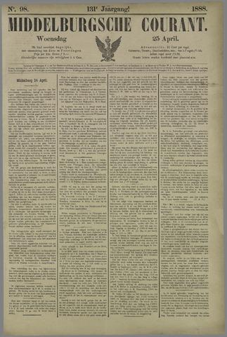 Middelburgsche Courant 1888-04-25