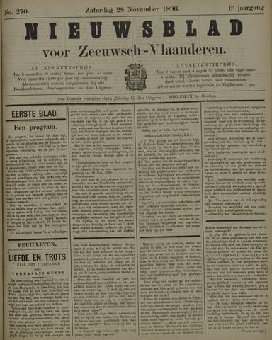 Nieuwsblad voor Zeeuwsch-Vlaanderen 1896-11-28