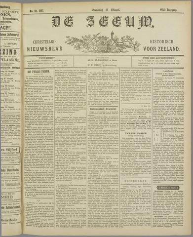 De Zeeuw. Christelijk-historisch nieuwsblad voor Zeeland 1897-02-18