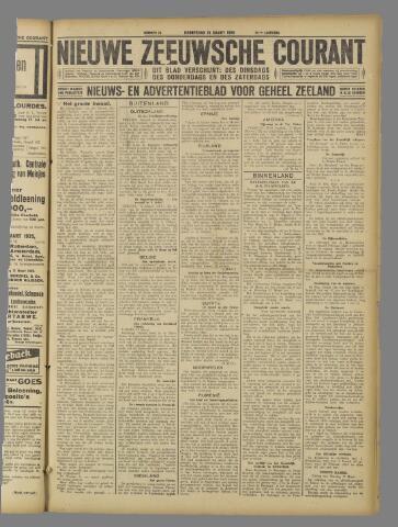 Nieuwe Zeeuwsche Courant 1925-03-19