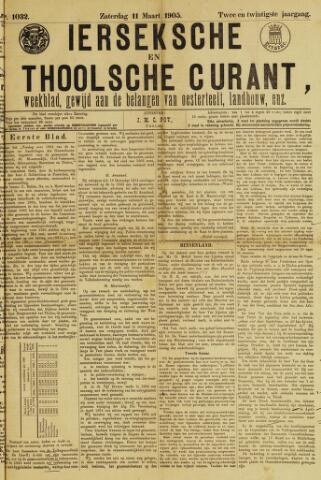 Ierseksche en Thoolsche Courant 1905-03-11