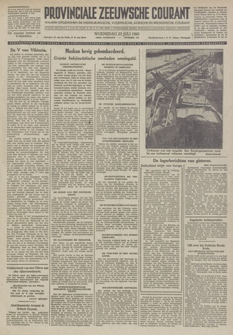 Provinciale Zeeuwse Courant 1941-07-23