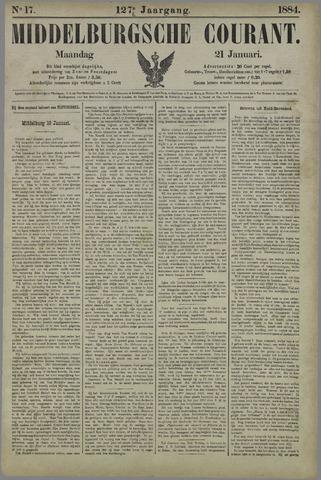 Middelburgsche Courant 1884-01-21