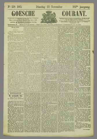 Goessche Courant 1915-11-23