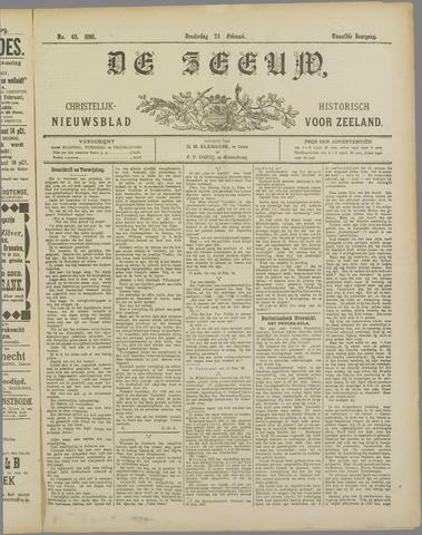 De Zeeuw. Christelijk-historisch nieuwsblad voor Zeeland 1898-02-24