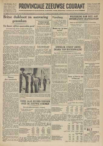 Provinciale Zeeuwse Courant 1950-01-13