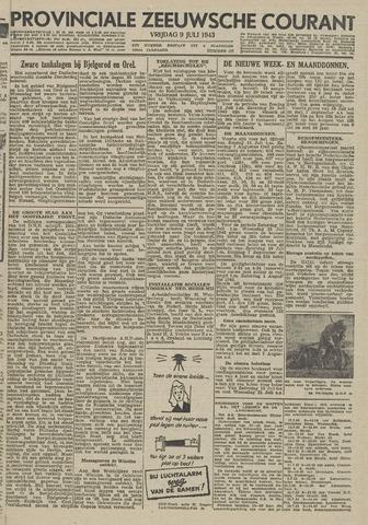Provinciale Zeeuwse Courant 1943-07-09