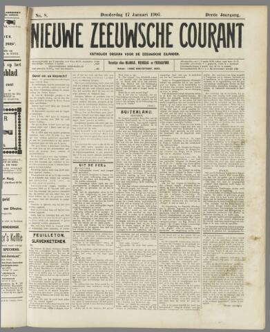 Nieuwe Zeeuwsche Courant 1907-01-17