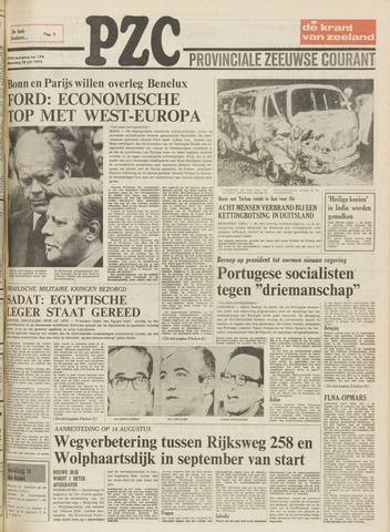 Provinciale Zeeuwse Courant 1975-07-28