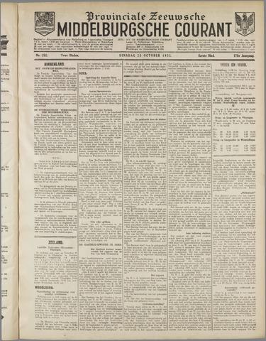 Middelburgsche Courant 1932-10-25