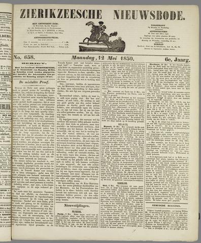 Zierikzeesche Nieuwsbode 1850-05-12