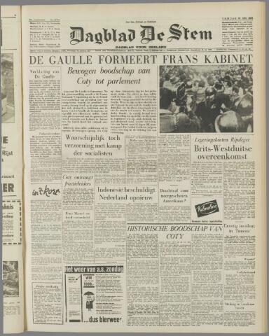 de Stem 1958-05-30