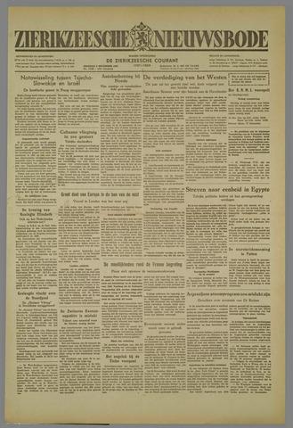 Zierikzeesche Nieuwsbode 1952-12-09
