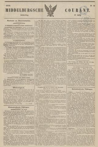 Middelburgsche Courant 1852-07-17