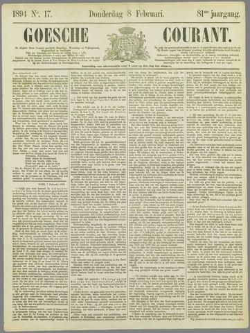 Goessche Courant 1894-02-08