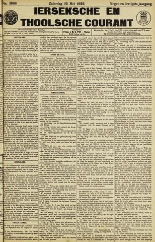 Ierseksche en Thoolsche Courant 1923-05-12