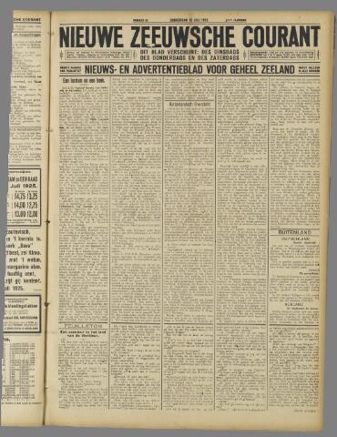 Nieuwe Zeeuwsche Courant 1925-07-16