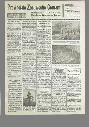 Provinciale Zeeuwse Courant 1940-10-23
