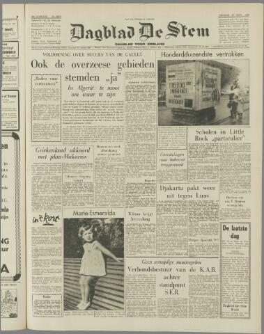de Stem 1958-09-30