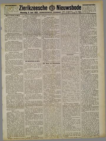 Zierikzeesche Nieuwsbode 1921-06-06