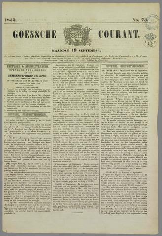 Goessche Courant 1853-09-19