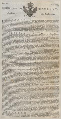Middelburgsche Courant 1776-08-08