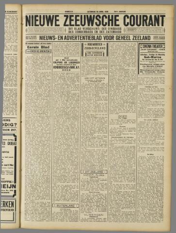 Nieuwe Zeeuwsche Courant 1930-04-26