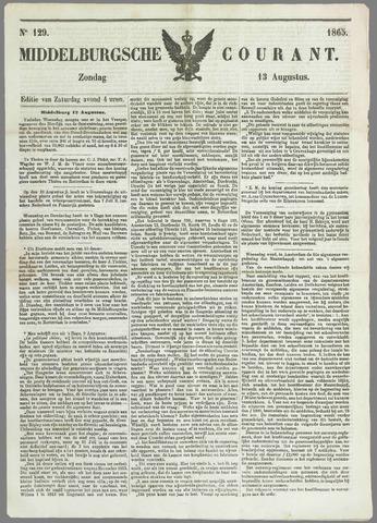 Middelburgsche Courant 1865-08-13
