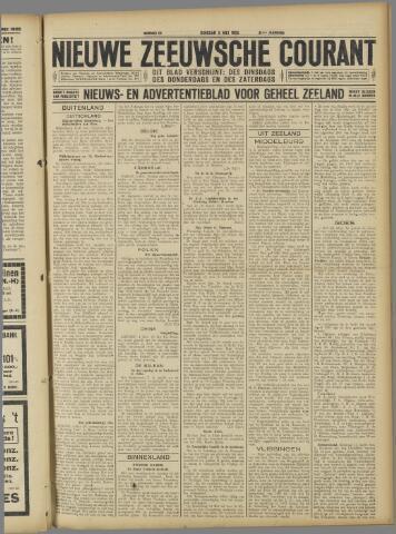 Nieuwe Zeeuwsche Courant 1925-05-05