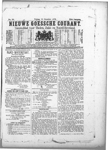 Nieuwe Goessche Courant 1876-12-15