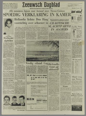 Zeeuwsch Dagblad 1962-03-27