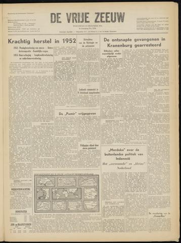 de Vrije Zeeuw 1952-12-31