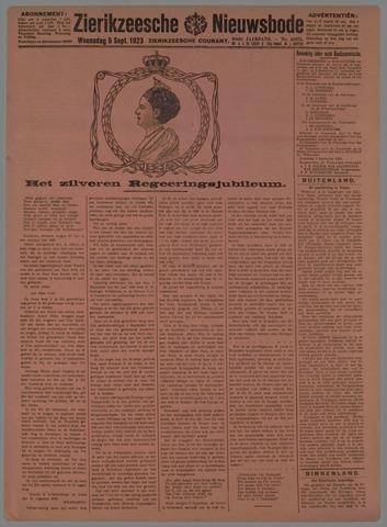 Zierikzeesche Nieuwsbode 1923-09-05