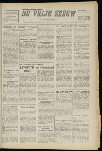 de Vrije Zeeuw 1948-04-14