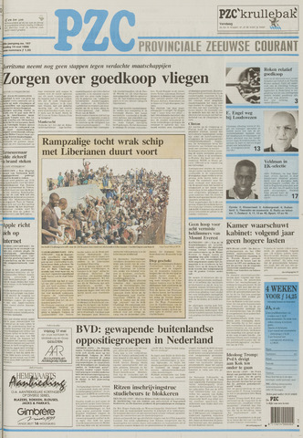 Provinciale Zeeuwse Courant 1996-05-14