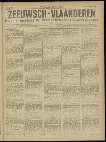 Luctor et Emergo. Antirevolutionair nieuws- en advertentieblad voor Zeeland / Zeeuwsch-Vlaanderen. Orgaan ter verspreiding van de christelijke beginselen in Zeeuwsch-Vlaanderen 1920-07-21