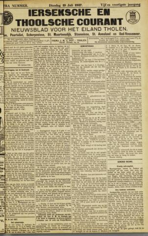Ierseksche en Thoolsche Courant 1927-07-19