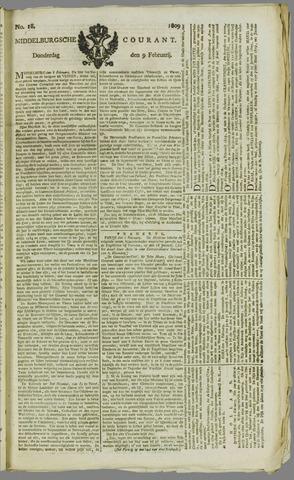 Middelburgsche Courant 1809-02-09