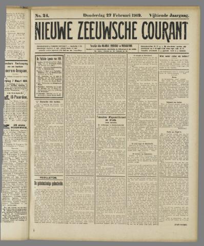 Nieuwe Zeeuwsche Courant 1919-02-27