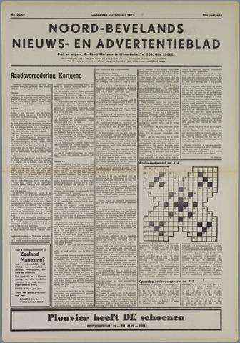Noord-Bevelands Nieuws- en advertentieblad 1975-02-20
