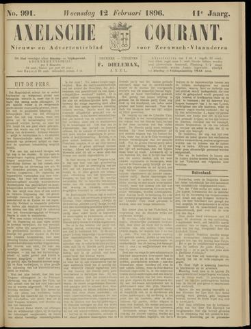 Axelsche Courant 1896-02-12