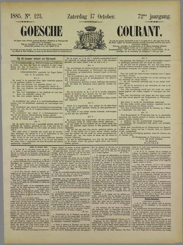 Goessche Courant 1885-10-17