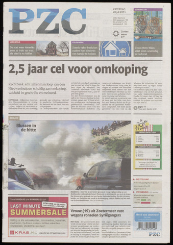 Provinciale Zeeuwse Courant 2013-07-20