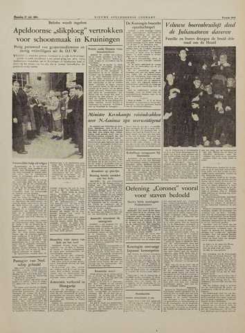 Watersnood documentatie 1953 - kranten 1953-07-27