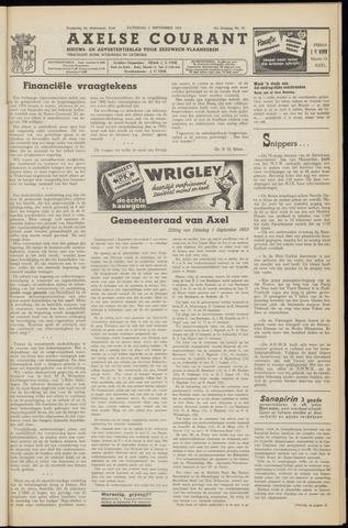 Axelsche Courant 1953-09-05
