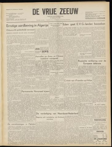 de Vrije Zeeuw 1954-09-10