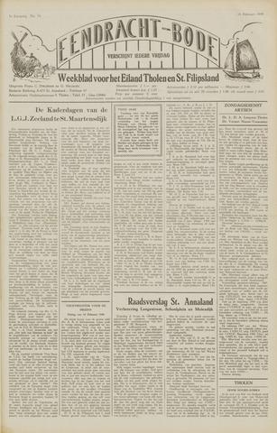 Eendrachtbode (1945-heden)/Mededeelingenblad voor het eiland Tholen (1944/45) 1949-02-18