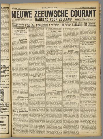 Nieuwe Zeeuwsche Courant 1923-06-12