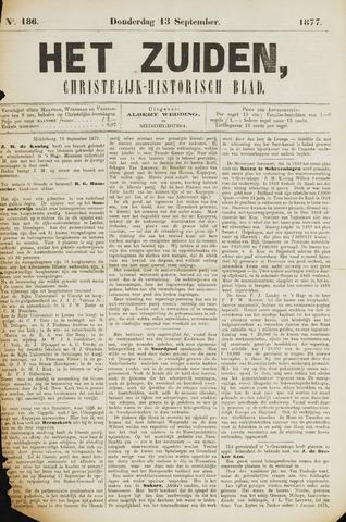 Het Zuiden, Christelijk-historisch blad 1877-09-13